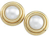Stunning Genuine Gemstone Pearl Earrings at BitCoin Gems