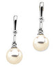Eye Catching Genuine Gemstone Pearl Earrings at BitCoin Gems