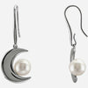 Super Chic Genuine Gemstone Pearl Earrings at BitCoin Gems
