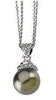 Detailed Genuine Gemstone Pearl Pendant for SALE at BitCoin Gems