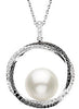 Stylish Genuine Gemstone Pearl Pendant for SALE at BitCoin Gems