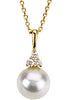 Appealing Genuine Gemstone Pearl Pendant for SALE at BitCoin Gems