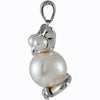 Flirty Genuine Gemstone Pearl Pendant for SALE at BitCoin Gems