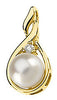 Alluring Genuine Gemstone Pearl Pendant for SALE at BitCoin Gems