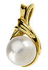 Attractive Genuine Gemstone Pearl Pendant for SALE at BitCoin Gems