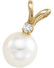 Ravishing Genuine Gemstone Pearl Pendant for SALE at BitCoin Gems