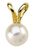 Lovely Genuine Gemstone Pearl Pendant for SALE at BitCoin Gems