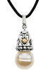 Majestic Genuine Gemstone Pearl Pendant for SALE at BitCoin Gems