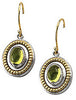 Rich Genuine Gemstone Peridot Earrings at BitCoin Gems