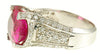 Superb Pink Tourmaline Genuine Gemstone Ring at BitCoin Gems