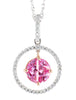 Unique Genuine Gemstone Pink Sapphire Pendant for SALE at BitCoin Gems