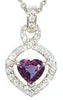 Stunning Genuine Gemstone Alexandrite Pendant for SALE at BitCoin Gems
