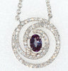 Fine Genuine Gemstone Alexandrite Pendant for SALE at BitCoin Gems