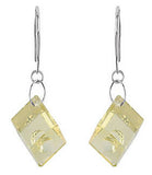 Cute Genuine Gemstone Quartz Earrings at BitCoin Gems