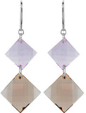 Adorable Genuine Gemstone Multi Earrings at BitCoin Gems
