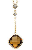 Brilliant Genuine Gemstone Quartz Pendant for SALE at BitCoin Gems