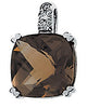Fabulous Genuine Gemstone Smoky Quartz Pendant for SALE at BitCoin Gems