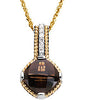 Elegant Genuine Gemstone Smoky Quartz Pendant for SALE at BitCoin Gems