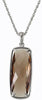 Sophisticated Genuine Gemstone Smoky Quartz Pendant for SALE at BitCoin Gems