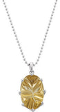 Bohemian Genuine Gemstone Quartz Pendant for SALE at BitCoin Gems