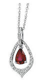 Stunning Genuine Gemstone Ruby Pendant for SALE at BitCoin Gems