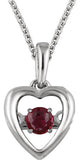 Sweet Genuine Gemstone Ruby Pendant for SALE at BitCoin Gems