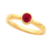 Best Ruby Genuine Gemstone Ring at BitCoin Gems