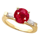 Desirable Ruby Genuine Gemstone Ring at BitCoin Gems