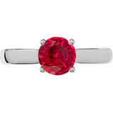 Attractive Ruby Genuine Gemstone Ring at BitCoin Gems