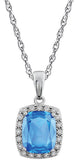Irresistible Genuine Gemstone Topaz Pendant for SALE at BitCoin Gems