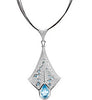 Stunning Genuine Gemstone Multi Pendant for SALE at BitCoin Gems