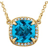 Unbelievable Genuine Gemstone Topaz Pendant for SALE at BitCoin Gems