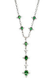 Ravishing Genuine Gemstone Tsavorite Garnet Pendant for SALE at BitCoin Gems