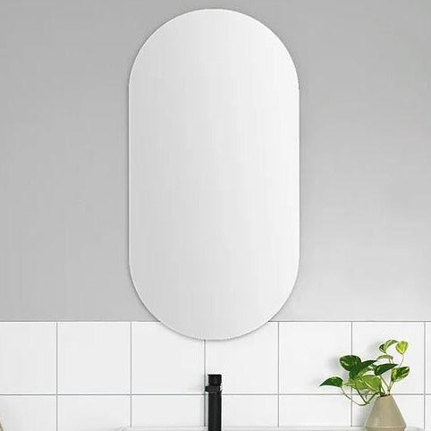 ADP Pill Polished Edge Mirror - Yeomans Bagno Ceramiche