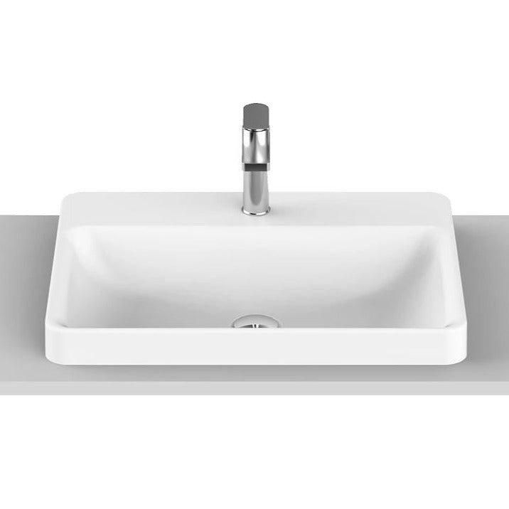 ADP Courage Solid-Surface Semi-Inset Basin - Yeomans Bagno Ceramiche