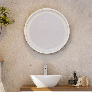 Timberline Brooklyn Framed Round Mirror - Yeomans Bagno Ceramiche