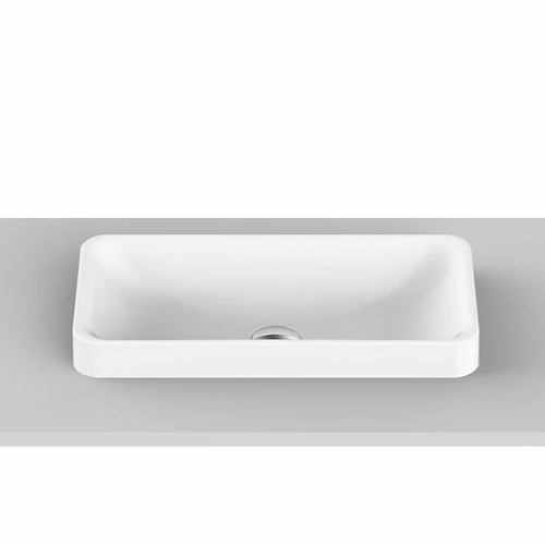 ADP Faith Solid Surface Semi-Inset Basin - Yeomans Bagno Ceramiche