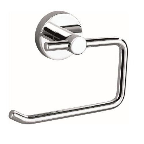 Badundküche Rund Toilet Roll Holder - Chrome - Yeomans Bagno Ceramiche