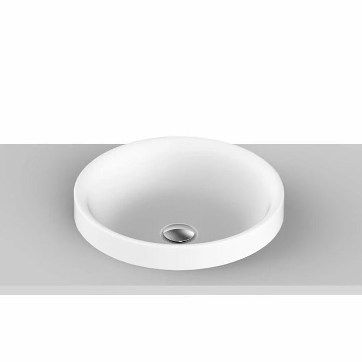 ADP Respect Solid Surface Semi-Inset Basin - Yeomans Bagno Ceramiche
