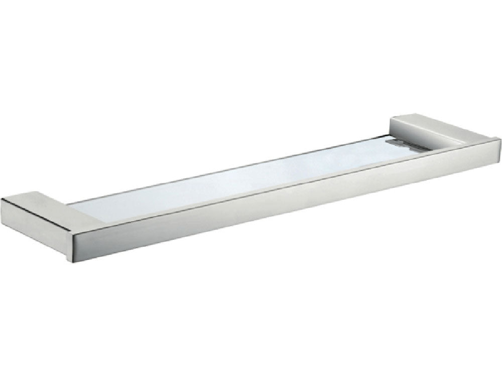 Fienza Koko Glass Shelf - Chrome - Yeomans Bagno Ceramiche