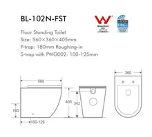 Load image into Gallery viewer, BNK Burano Matte White Rimless Wall Faced Toilet - Yeomans Bagno Ceramiche