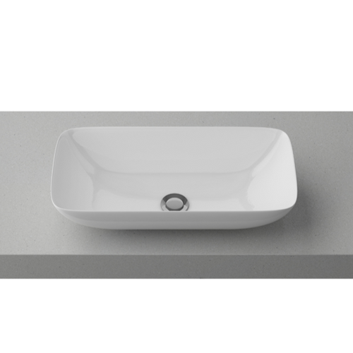 Timberline Bloom White Gloss Basin - Yeomans Bagno Ceramiche