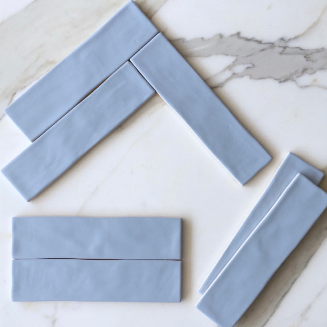 Chalk Azul Subway Tile - Yeomans Bagno Ceramiche