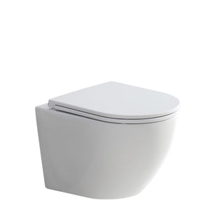 Fienza Koko Matte White Wall-Faced Toilet Suite - Yeomans Bagno Ceramiche