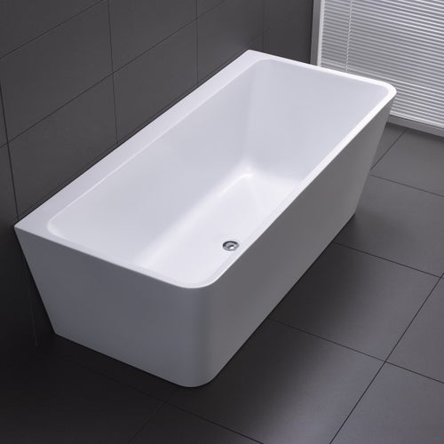 Yeomans BC Florence Back to Wall Acrylic Bath - Yeomans Bagno Ceramiche