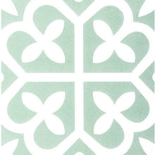 Load image into Gallery viewer, Malabar Mint Green Encaustic Look Feature Tile - Yeomans Bagno Ceramiche