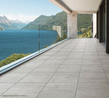 Load image into Gallery viewer, Novello Grey Stone Look Porcelain Tile - Yeomans Bagno Ceramiche