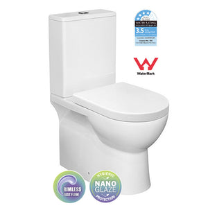 Yeomans BC Fred Back-To-Wall Toilet Suite - Yeomans Bagno Ceramiche