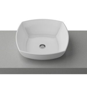 Timberline Evolve White Gloss Basin - Yeomans Bagno Ceramiche