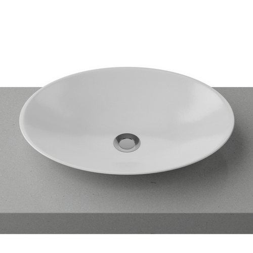 Timberline Feather White Gloss Basin - Yeomans Bagno Ceramiche